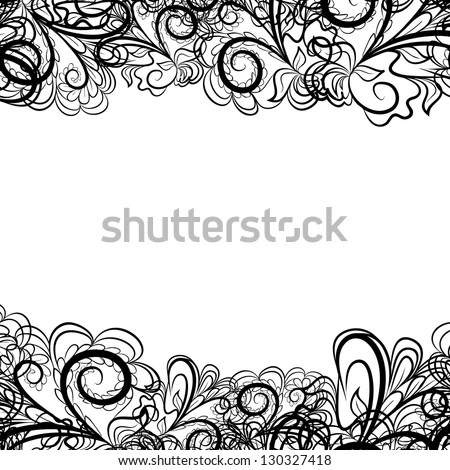 Black Lace Border Stock Images, Royalty-Free Images