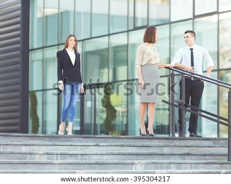 People On Stairs Stock Images Royalty Free Images