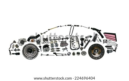 Car Spare Parts Stock Images, Royalty-Free Images