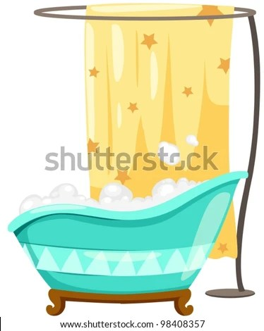 Shower Curtain Isolated Stock Images Royalty Free Images