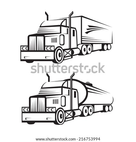 Black Trailer Stock Images, Royalty-Free Images & Vectors