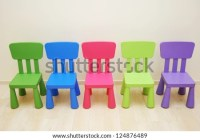 Five Colorful Chairs Montessori Kindergarten Preschool ...