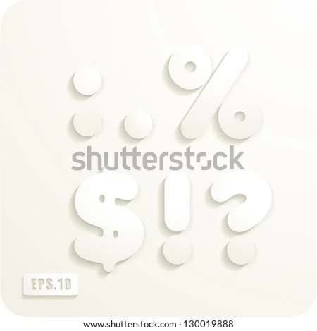 Cut out letters Stock Photos, Images, & Pictures