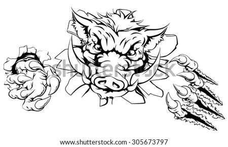 Warthog Tattoo Stock Images, Royalty-Free Images & Vectors