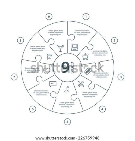 Jigsaw Circle Stock Images, Royalty-Free Images & Vectors