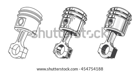 Piston Stock Images, Royalty-Free Images & Vectors
