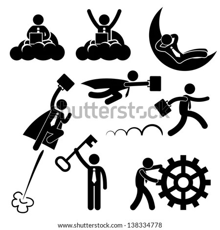 Pictogram Business Stock Images, Royalty-Free Images
