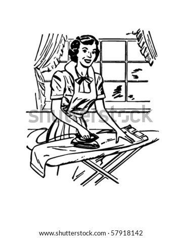 Retro Housewife Stock Photos, Images, & Pictures