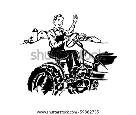 Tractor-driver Stock Images, Royalty-Free Images & Vectors