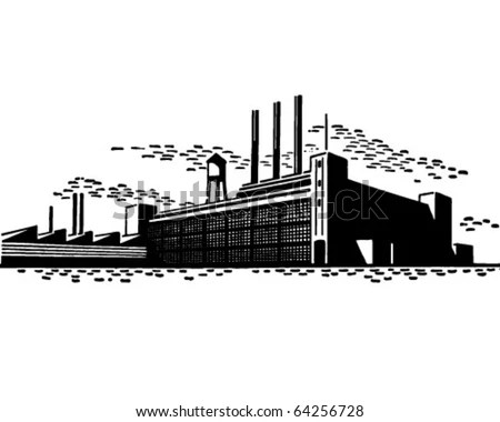 Vintage Factory Stock Images, Royalty-Free Images