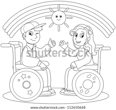Kid Wheelchair Stock Images, Royalty-Free Images & Vectors
