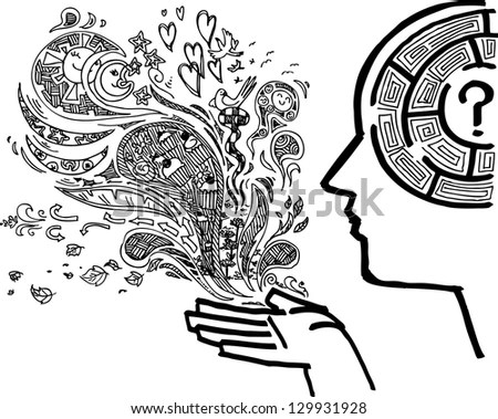 Brain Doodle Stock Images, Royalty-Free Images & Vectors