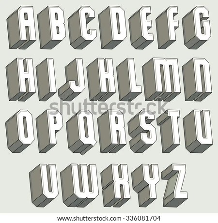 3d Letters Stock Images, Royaltyfree Images & Vectors