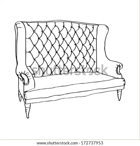 Outline Furniture Stock Images, Royalty-Free Images