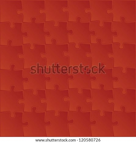 Blank Puzzle Template Background Illustration Stock Vector 120580726 ...