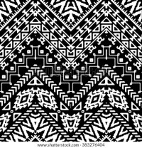 Hand Drawn Painted Seamless Pattern Vector Stock Vector ...