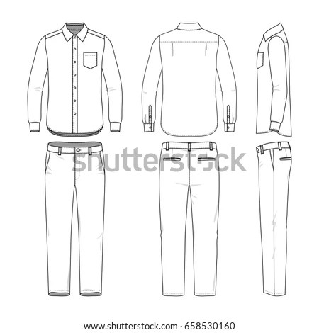 Trousers Stock Images, Royalty-Free Images & Vectors