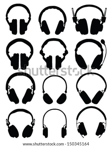 Headphones vector Stock Photos, Images, & Pictures