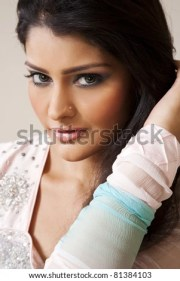 attractive indian girl beautiful