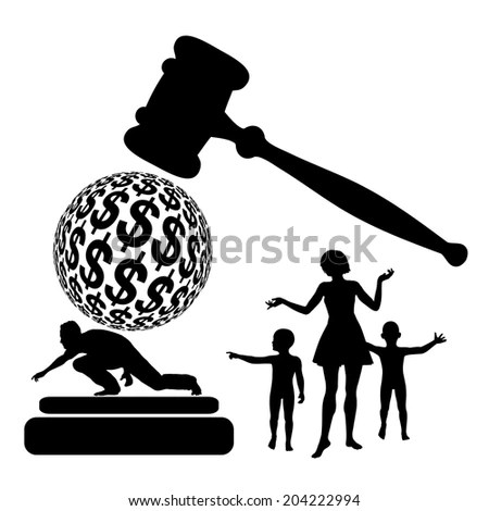 Divorce Money Stock Images, Royalty-Free Images & Vectors