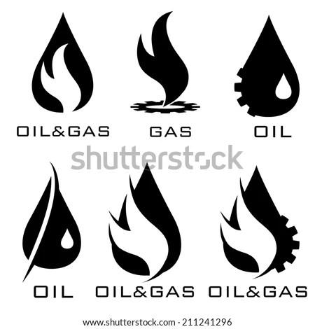 Oil Gas Industry Iillustration Stock Vector 211241296