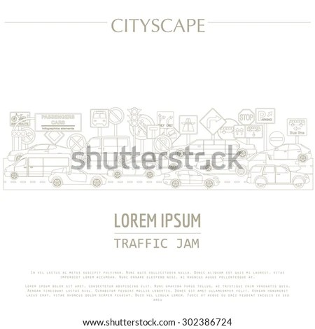 Traffic Diagram Template, Traffic, Free Engine Image For