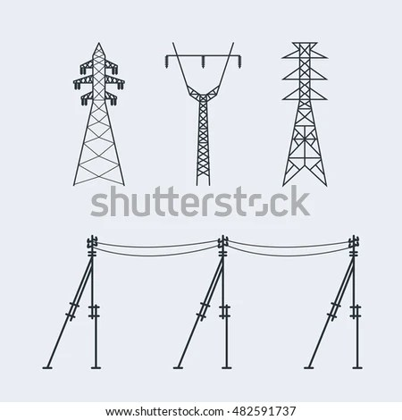 Transmission Lines Stock Images, Royalty-Free Images
