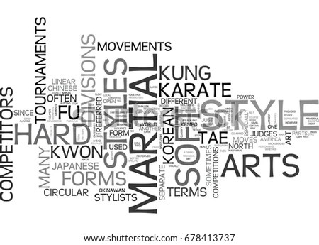 Karate Text Art Stock Images, Royalty-Free Images