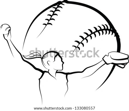 Softball Pitcher Stock Images, Royalty-Free Images