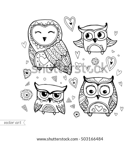 Smiling Owl Stock Images, Royalty-Free Images & Vectors