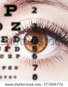 Close up image of human eye through chart also stock photo royalty free rh shutterstock