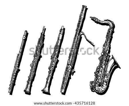 Clarinet Stock Images, Royalty-Free Images & Vectors