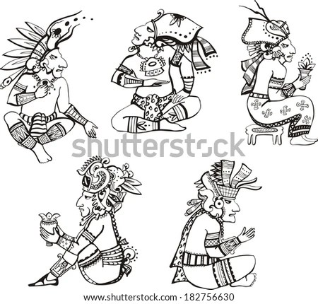 Mayan People Stock Images, Royalty-Free Images & Vectors