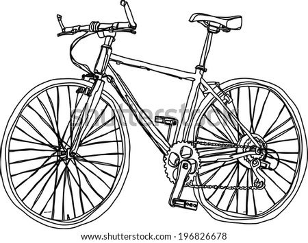 Bike Drawings Stock Images, Royalty-Free Images & Vectors