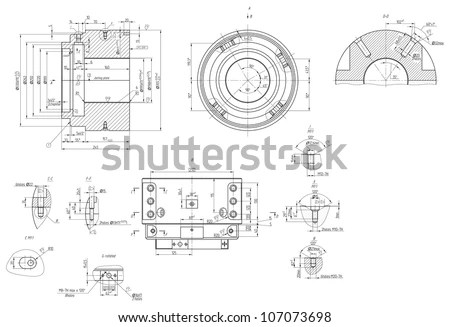 Mechanical Drawing Stock Images, Royalty-Free Images