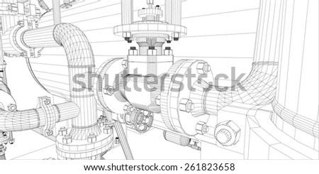 3d Pipe Stock Images, Royalty-Free Images & Vectors