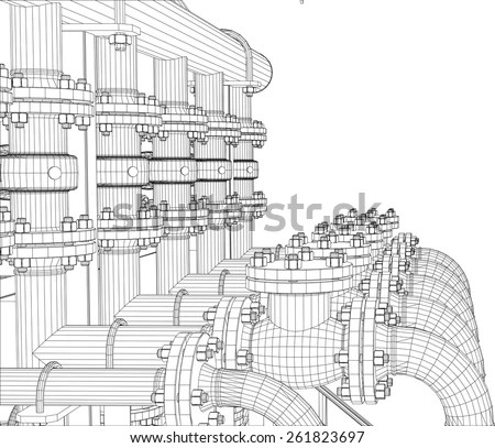 Oil Pipeline Stock Images, Royalty-Free Images & Vectors