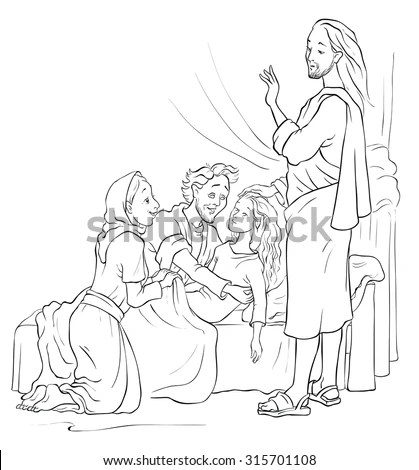 Jesus Healing Stock Images, Royalty-Free Images & Vectors