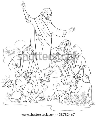 Jesus Preaching Stock Images, Royalty-Free Images