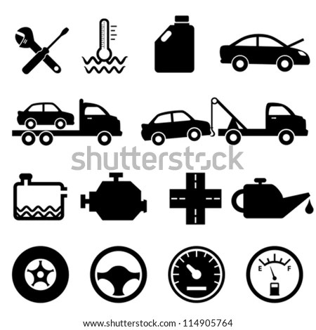 Vehicle Warning Lights Symbols Vehicle Instrument Panel