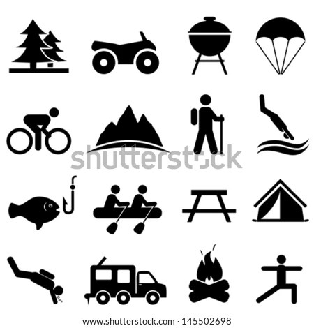 Hiking Icon Stock Images, Royalty-Free Images & Vectors