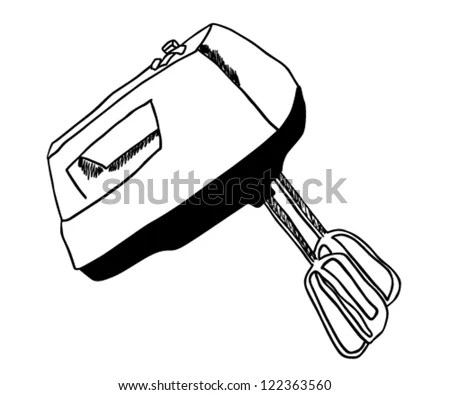 Hand Mixer Stock Images, Royalty-Free Images & Vectors