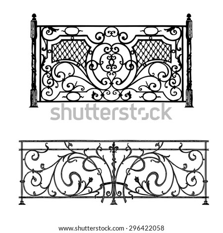 Iron Railing Stock Images, Royalty-Free Images & Vectors