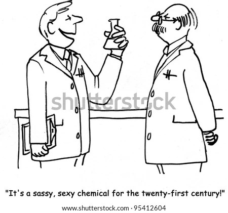 Science cartoons Stock Photos, Images, & Pictures