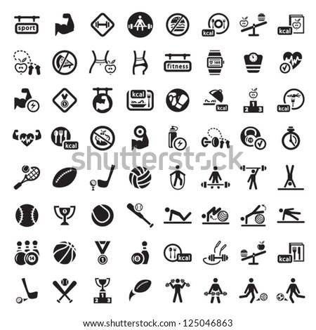 Sport Pictogram Stock Images, Royalty-Free Images