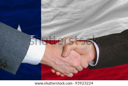 Two Businessmen Shaking Hands After Good Stock Photo (Royalty Free ...