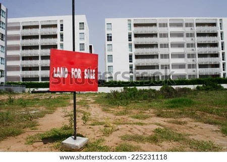Property for sale. - stock photo