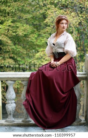 Old Fashioned Woman Stock Images RoyaltyFree Images