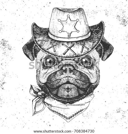 Dog Pen Ink Illustration Stock Images, Royalty-Free Images