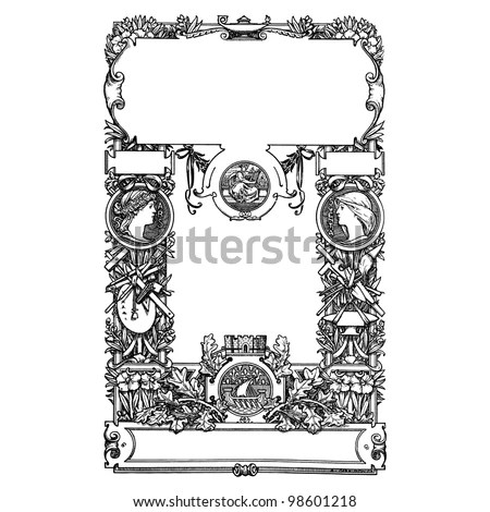 Frontispiece Stock Images, Royalty-Free Images & Vectors